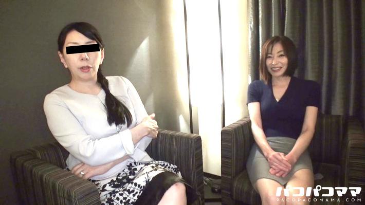 保坂友利子・華城咲 五十路の絶品美魔女ととことんヤリまくる