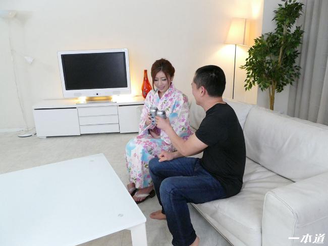 神尾舞 ときめき~浴衣の似合う元キャンパス嬢~ 11