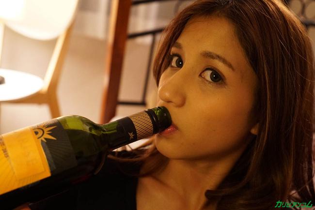 亜美 飲み姿エロイイGP 飲んだら濡れるの、ヤリたくなるの 6