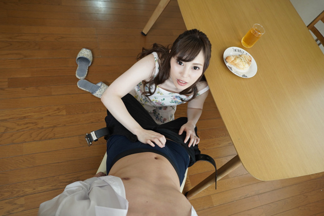 櫻木梨乃 [VR] 裸エプロンで朝から誘惑してくる激カワ俺嫁 15