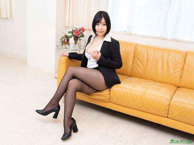 小川桃果 [VR] 美しい人に罵られたい 蒸れた黒パンスト美女が自ら激ピストンで勝手に絶頂 5