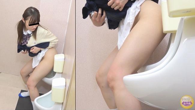 尿意緊急女学生 男子便所侵入立ちション JADE-NET 18