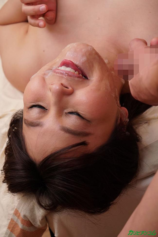 小川桃果 私のセックスを見てください い~っぱい顔面射精してください 2 カリビアンコム 26