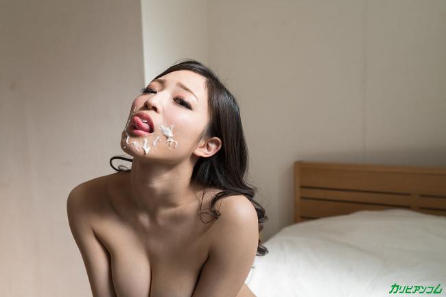 日高千晶 私のセックスを見てください!い~っぱい顔面射精してください!3 カリビアンコム 3