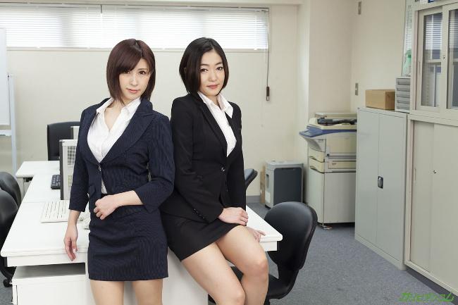 エスカレートする女上司たち 下着開発部は女の戦場 江波りゅう 折原ほのか カリビアンコム 2