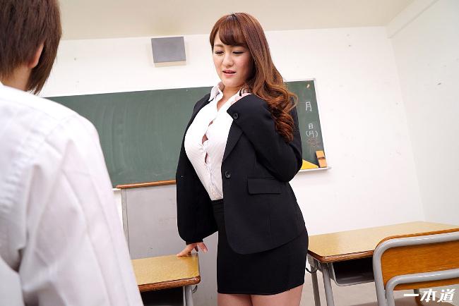 祈里きすみ 巨乳女教師の誘惑 一本道 11