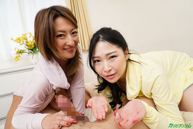 玲奈と宮澤さおりがぼくのお嫁さん 巨乳2人と夢の中出し重婚生活 カリビアンコム 12