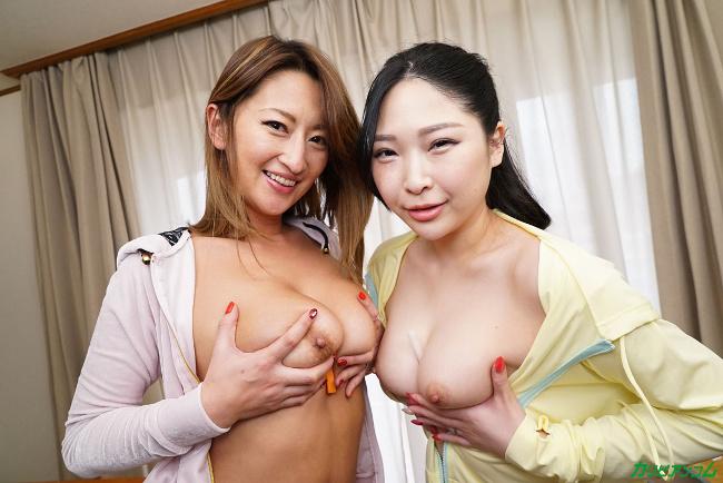 玲奈と宮澤さおりがぼくのお嫁さん 巨乳2人と夢の中出し重婚生活 カリビアンコム 13