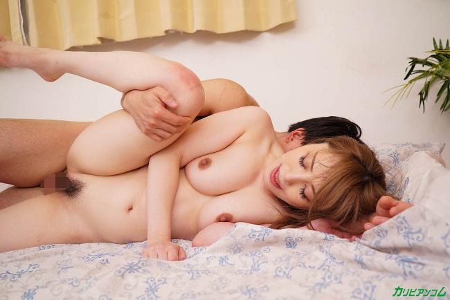 櫻木梨乃 裸で客人を迎え入れる無防備すぎる美人妻 カリビアンコム 21