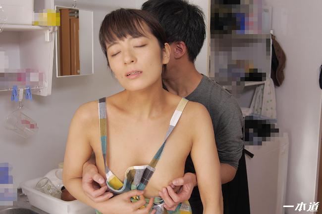 彩華ゆかり 裸エプロンデリヘル家政婦 一本道 7