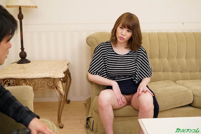 夫の単身赴任で欲情が抑えきれない人妻 小泉真希 カリビアンコム 6