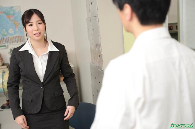 高島かな 新入社員のお仕事 Vol.23 カリビアンコム 6