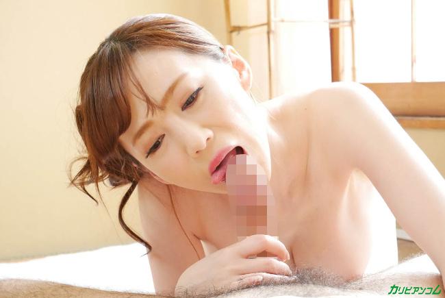すみれ美香 洗練された大人のいやし亭 透けた浴衣越しに輝く白桃おっぱい カリビアンコム 12