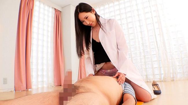 パンティ顔騎やおっぱい窒息されながらの乳首責めでチ○ポを放置されても射精する男たち 1
