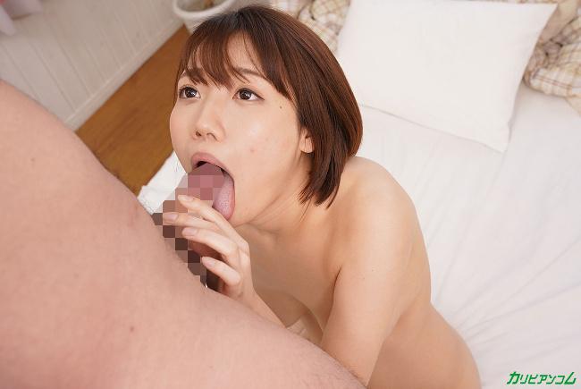 僕の彼女が菊川みつ葉だったら いつも朝勃ちを狙ってくるので毎朝遅刻です カリビアンコム 15