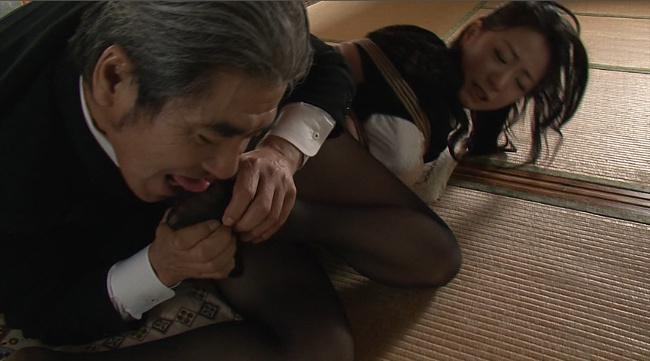 『偏執的性交強要・緊縛相姦』 未亡人飼育調教 和泉紫乃 1