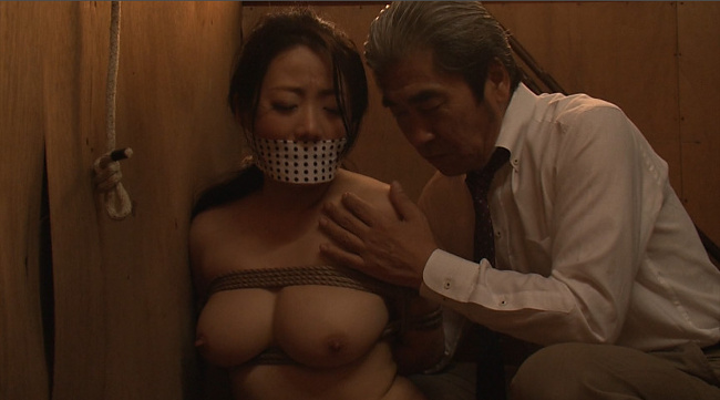 『偏執的性交強要・緊縛相姦』 未亡人飼育調教 和泉紫乃 9
