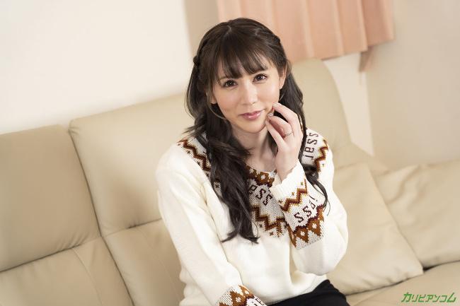小泉真希 [VR] 夫の目の前で妻が お酒を飲むとなんだか変になってきちゃうんですよね カリビアンコム 2