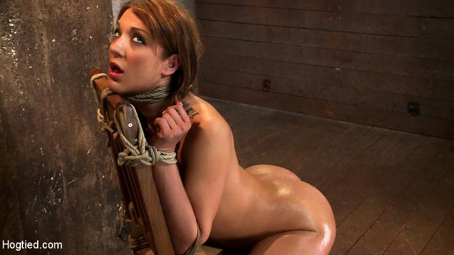 Amy Brooke Hogtied Kink.com